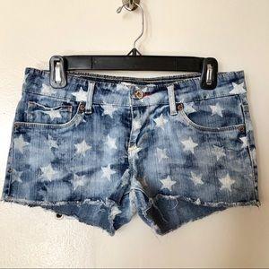 Levi's Shorty Jean Shorts Faded Stars 7
